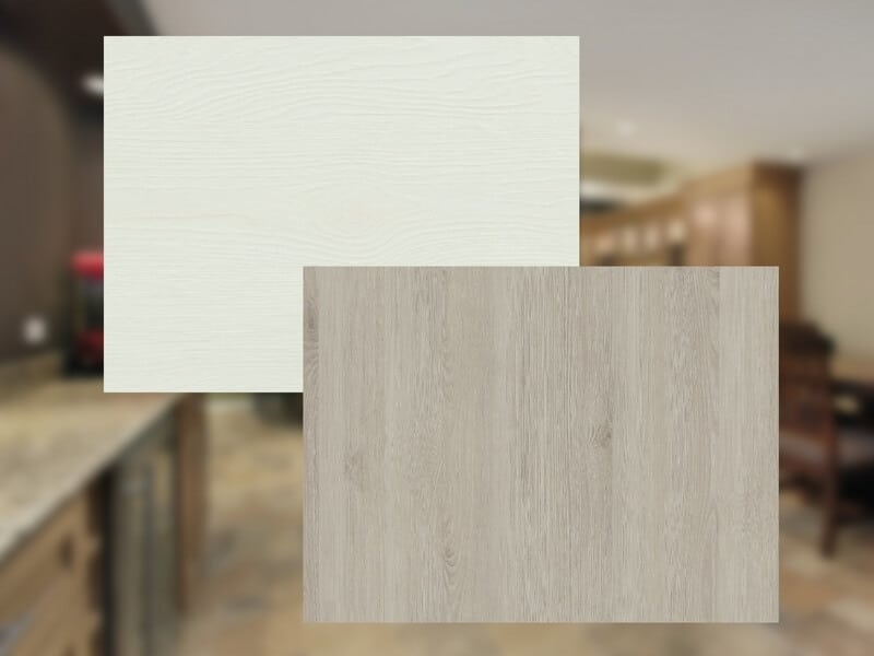 Innentüren eiche weiß  Übersicht Oberflächen Holz und CPL Innentüren