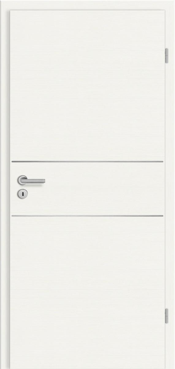 CPL Elegance Mantova cE28 Weiß gebürstet quer