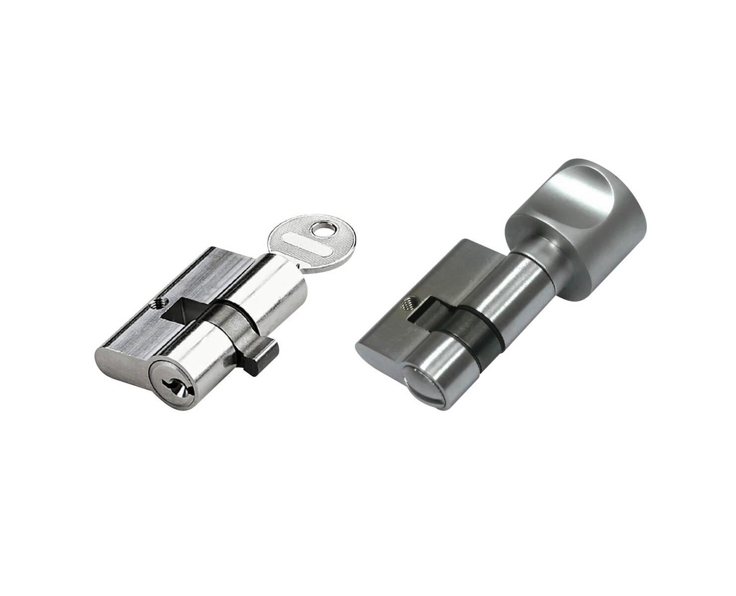 Glastüren WC- und PZ-Zylinder
