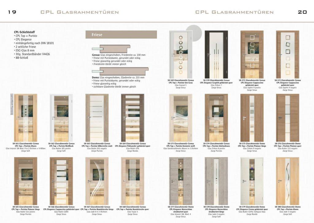 News - Prospekt Türenübersicht 19+20