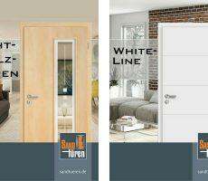 News - Prospekte Echtholztüren und White-Line