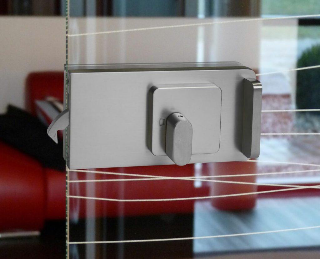 News - WC-Verriegelung für Glasschiebetür