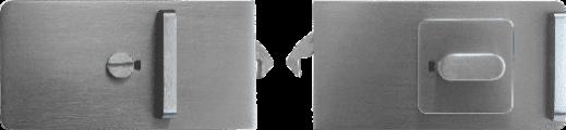 News - WC-Verriegelung Glasschiebetür