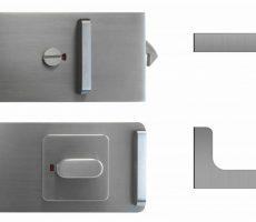 News - WC-Verriegelung und Griffmuschel G-Form