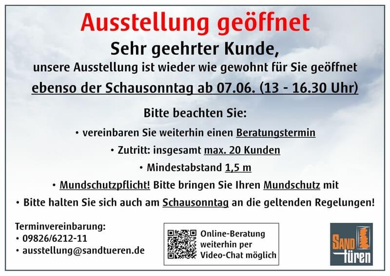 News- Ausstellung ab 27.05. geöffnet