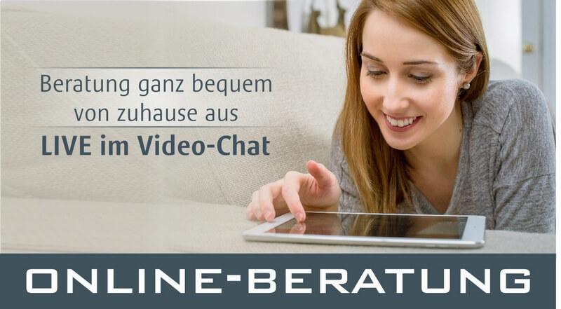 Online-Beratung - Live im Video-Chat