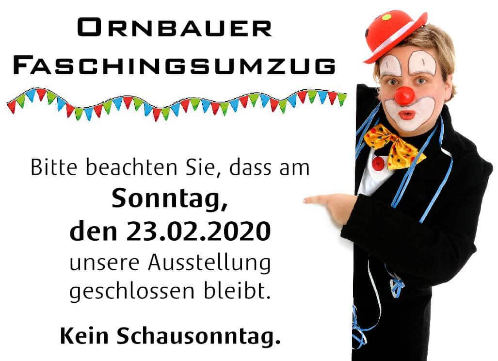 News - Ornbauer Faschingsumzug 2020