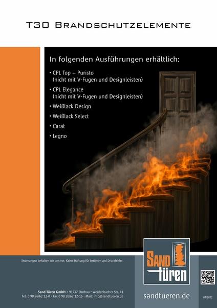 Brandschutzelemente