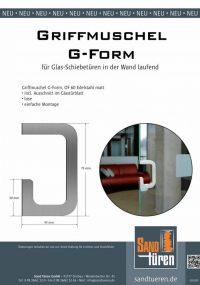 Griffmuschel G-Form