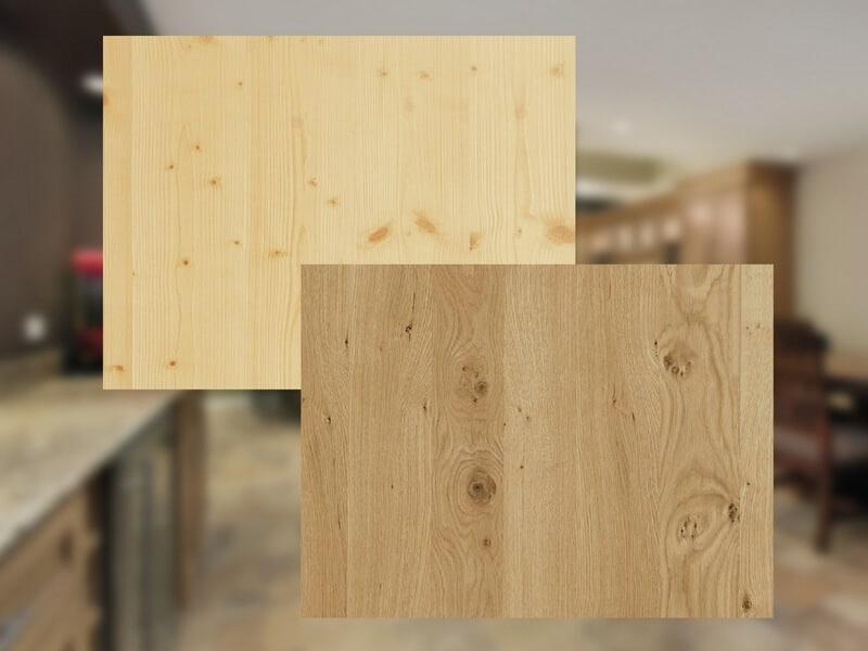 Oberflächen Echtholz