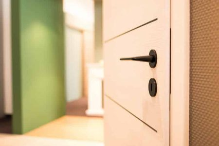 Türenausstellung Sand Türen, Türendetail