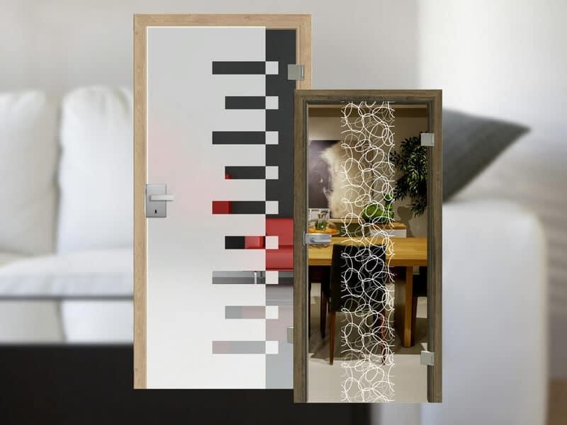 Ganzglas-Türen