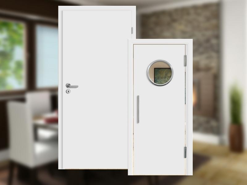 Weiße Türen