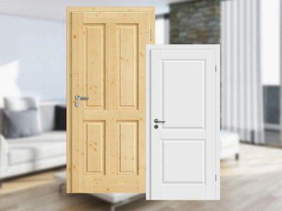 Landhaustüren Holz   Classico Weiß