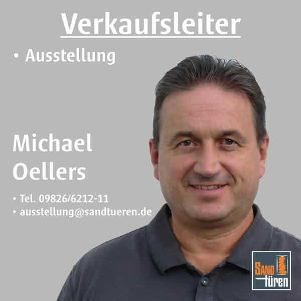Verkaufsleiter Ausstellung Michael Oellers