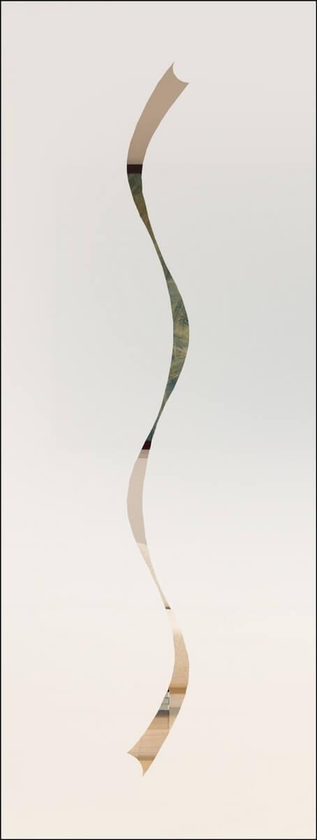 Jade 3 negativ - sandgestrahlt
