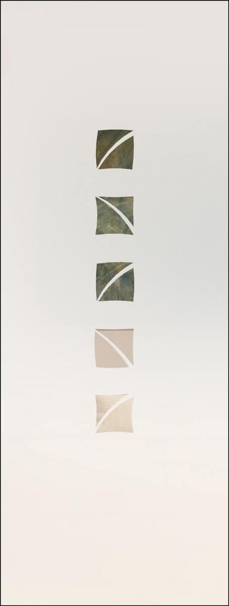 Rubin 100 negativ - sandgestrahlt