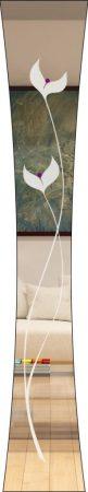Rubin 008 - sandgestrahlt, Farbguss lila