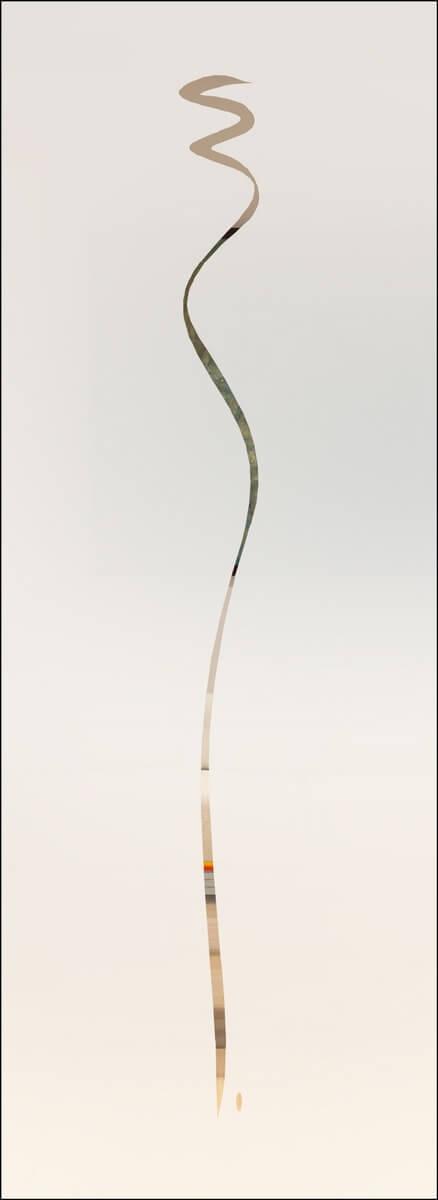 Jade 5 negativ - sandgestrahlt