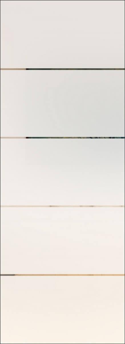 Linea 4 negativ - 8 mm, sandgestrahlt