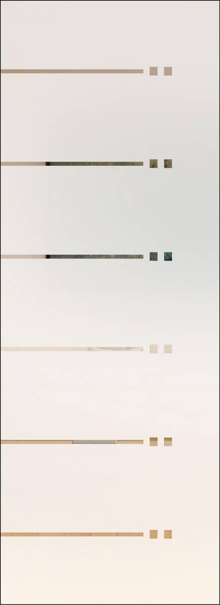 Rubin 101 negativ - sandgestrahlt