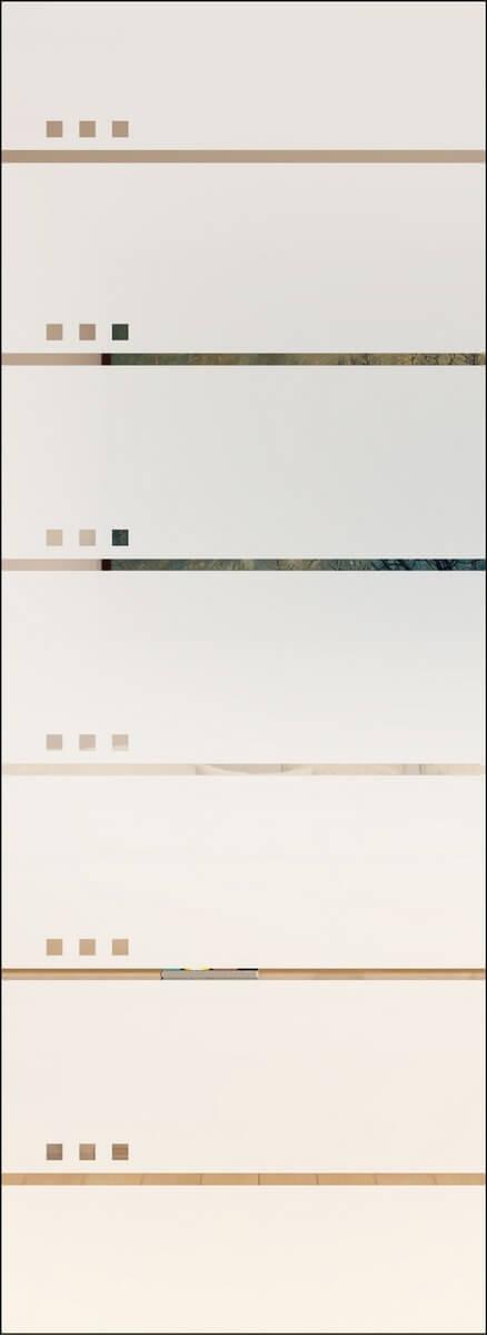 Rubin 102 negativ - sandgestrahlt