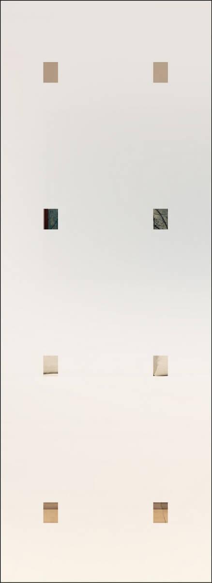 Rubin 105 negativ - sandgestrahlt