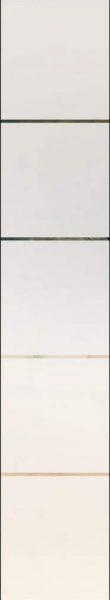 Linea 4 negativ, 8 mm - sandgestrahlt