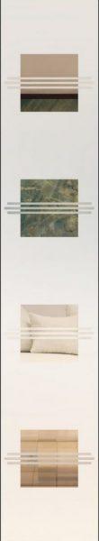 Opal 9 Modell 1 negativ - sandgestrahlt in 2 Dichten
