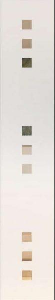 Quadro 9 negativ - sandgestrahlt