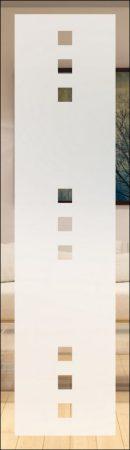 Quadro 9 negativ - sandgestrahlt mit Rand