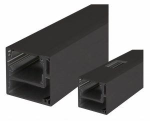 Anschlagpfosten Holztüren Slide-On OF Black Nero - Querschnitt