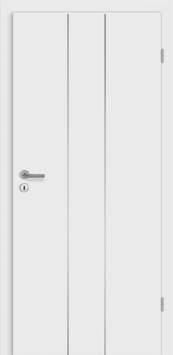 E-Design Domo wE1m Weißlack