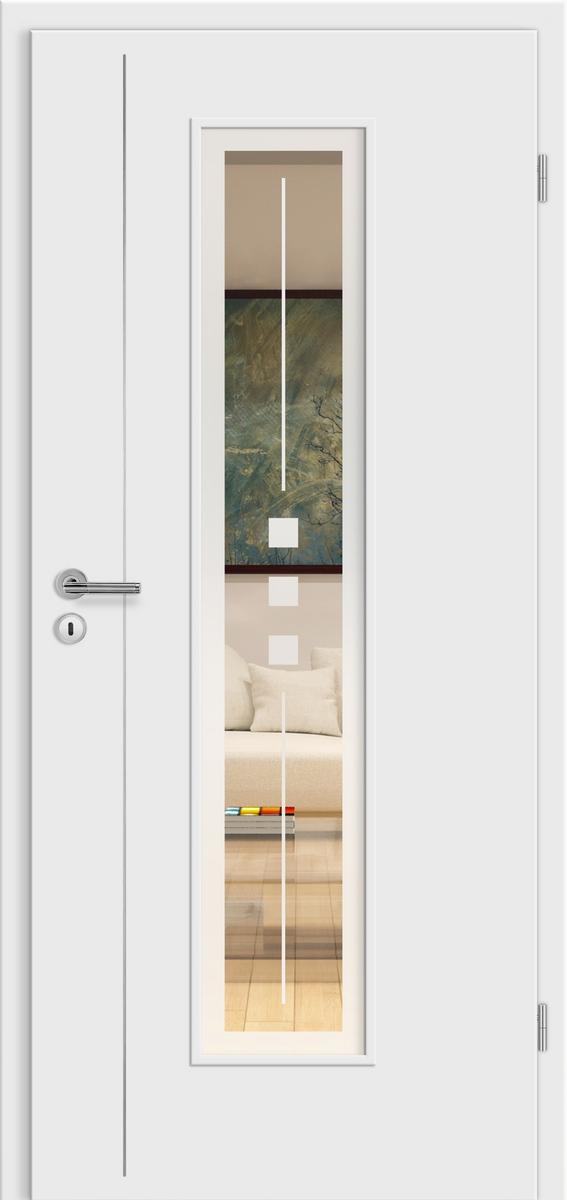 E-Design Florenz wG19 Weißlack – LM – Jade 2 positiv mit Rand