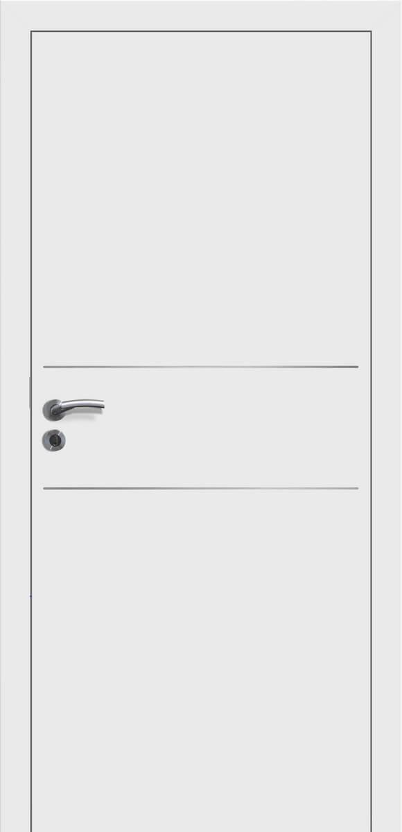 E-Design Mantova wG28 Weißlack – stumpf einschlagend