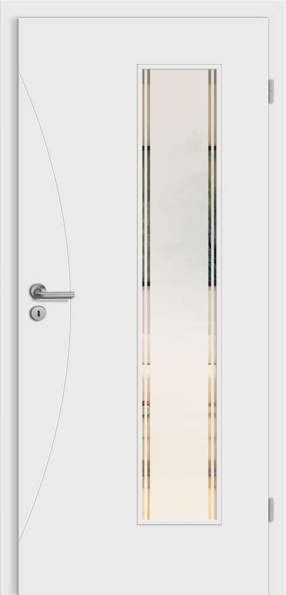 Linea Ancona wF20 Weißlack - LV - Siedo 01 Siebdruck