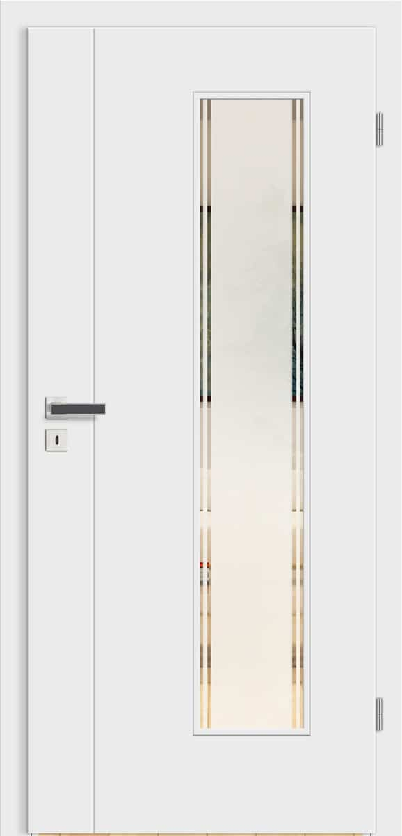 Linea Florenz wN19 Weißlack – LV FB – Siedo 01 Siebdruck