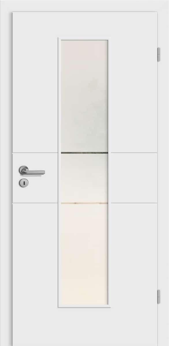 Linea Mantova wN28 Weißlack - LM - Siema 02 Siebdruck
