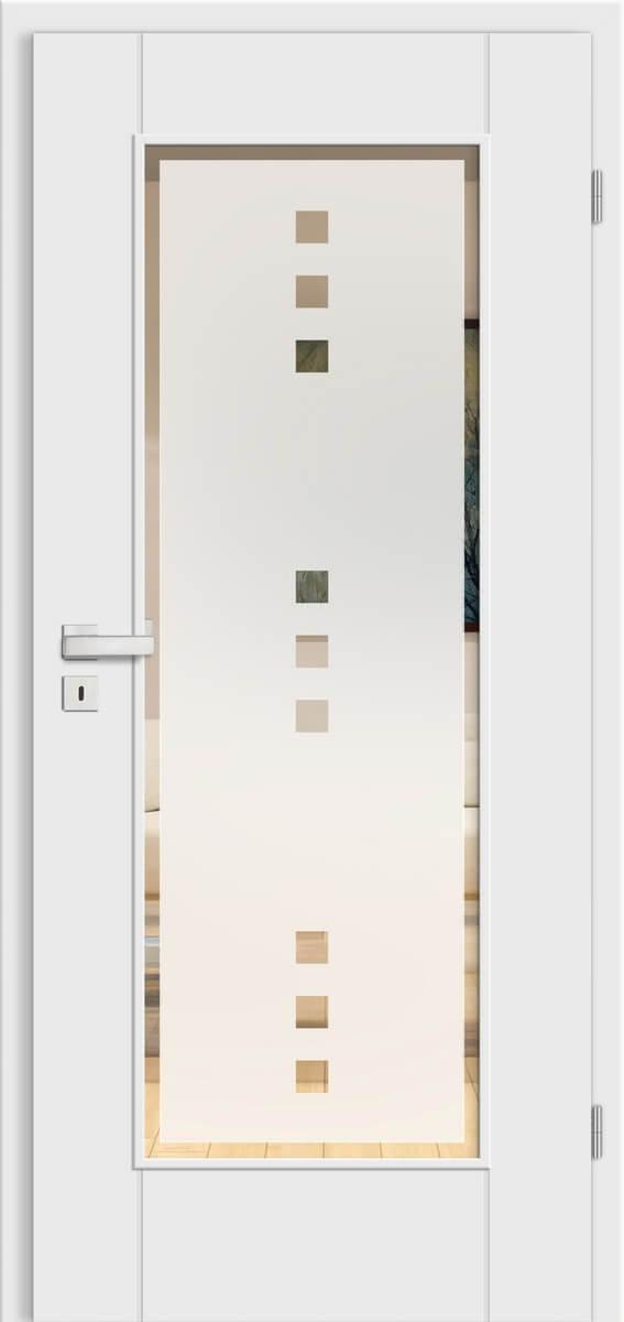 Select Garda Weißlack – LA Garda – Quadro 9 negativ mit Rand