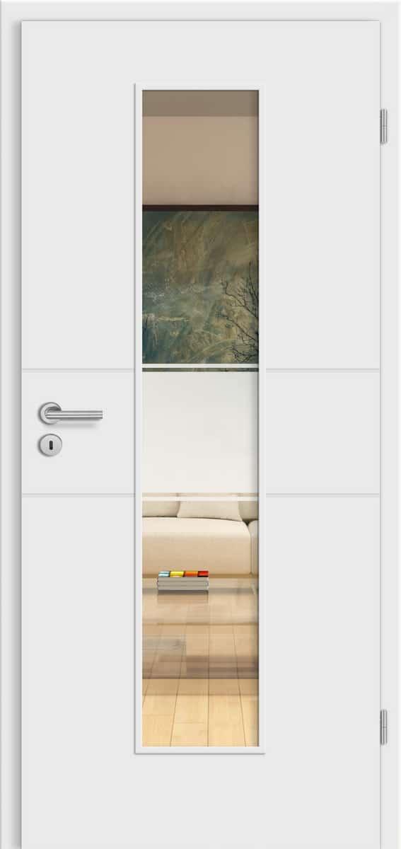 Select Mantova Weißlack - LM - Siema 01 Siebdruck