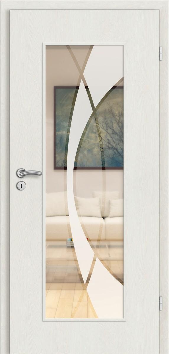CPL Elegance Antara-Eiche weiß gebürstet längs - RM - Granat 3