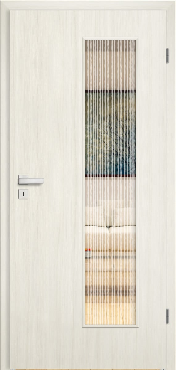 CPL Elegance Crema gebürstet längs – LV – Sandstrahlmotive Lines