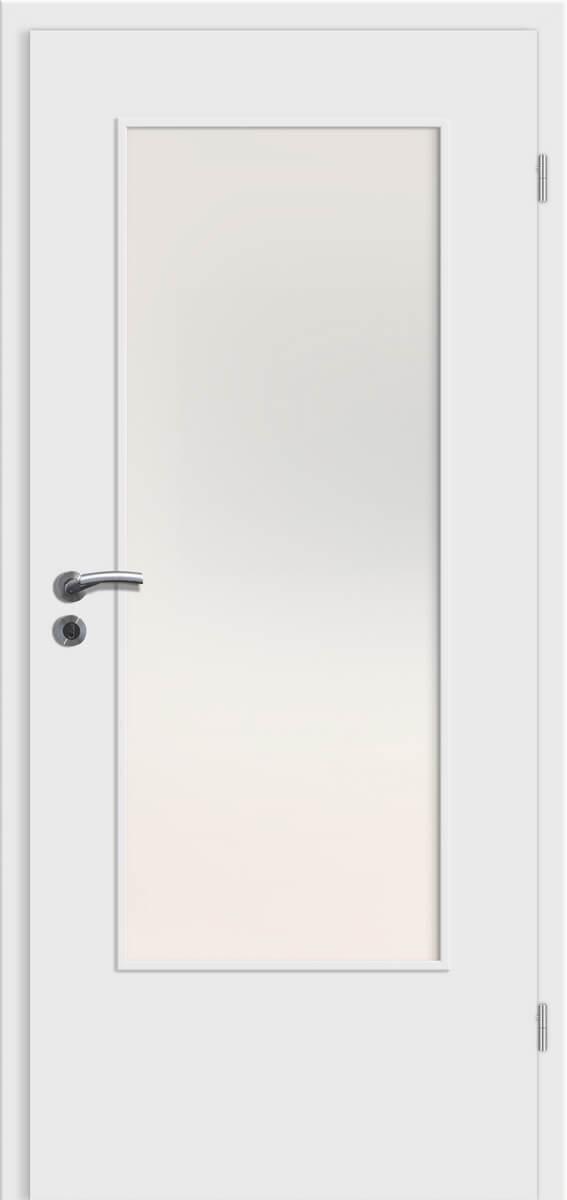 CPL Top + Puristo Uni Weiß – DIN-LA – Satinato weiß