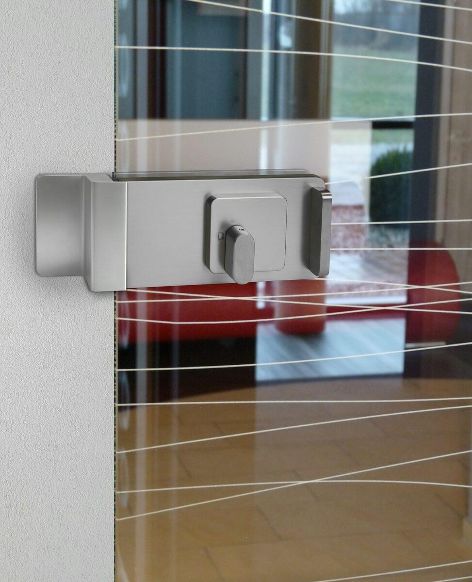 Gegenkasten für WC- oder PZ-Verriegelung Glasschiebetüren